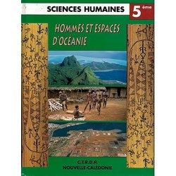 Hommes et espaces d'Océanie (manuel scolaire 5e) - occasion