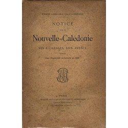Notice sur la Nouvelle-Calédonie